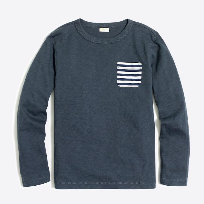 J.Crew Factory sale: Contrast Pocket T-shirt