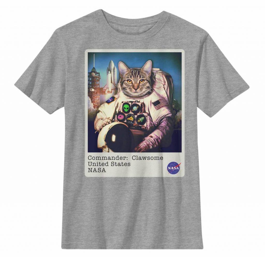 NASA cat t-shirt at Target