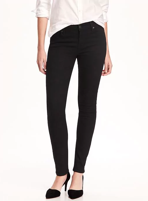 Best jeans for tall girls: Original Skinny Jeans at Old Navy