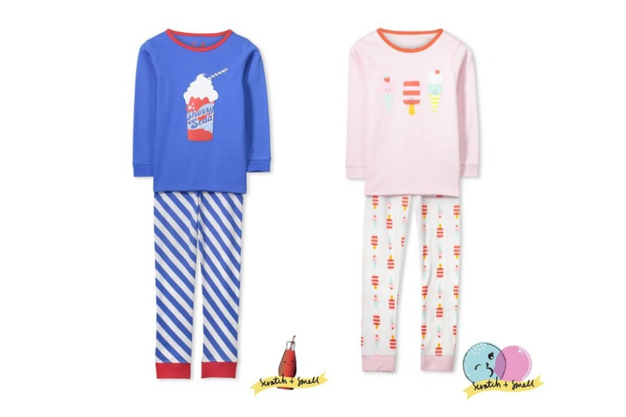 Scratch and sniff pjs from Cotton:On that smell like cherry cola or ice cream!