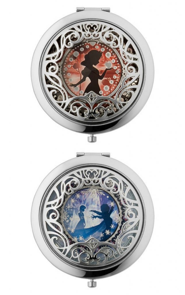 Sephora and Disney's limited edition compacts featuring Snow White and Anna and Elsa