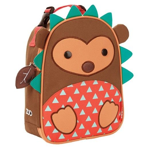 Skip*Hop Hedgehog Zoo Pack Lunch Bag | Cutest Animal School Supplies | back to school shopping 2017
