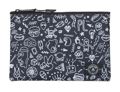 Doodle Pouch | Cool Skull School Supplies | back to school shopping 2017