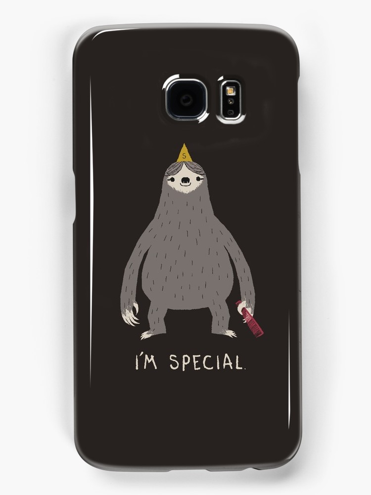 Sloth Samsung Galaxy case at Red Bubble | Cool Mom Picks back to school shopping 2017