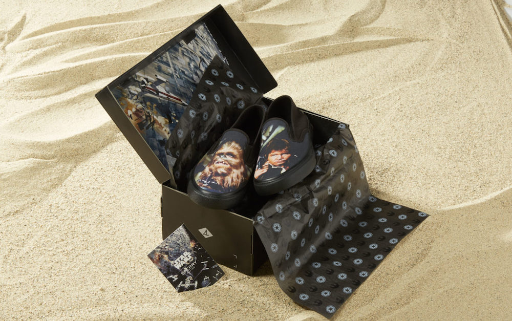 Star Wars sneakers by Sperry: Han and Chewy (sniff)