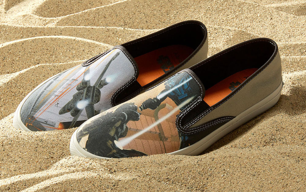 Star Wars sneakers by Sperry: McQuarrie style