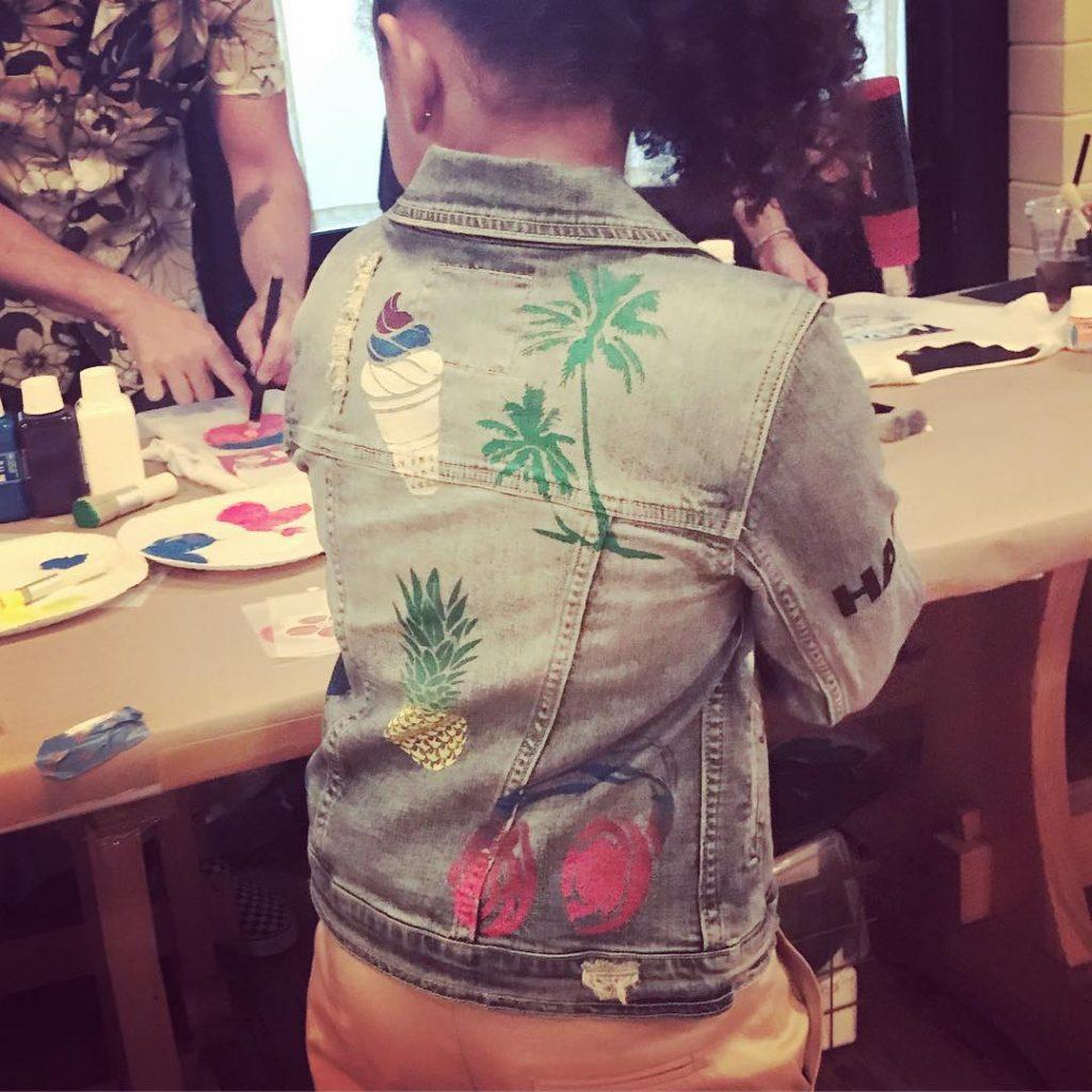 Stencil 1 denim jacket customization inspiration