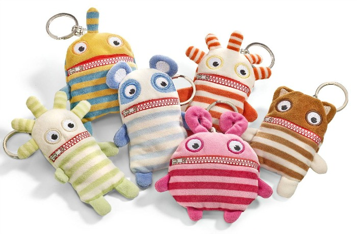 Help for kids anxious about going back to school: Worry Eaters key rings