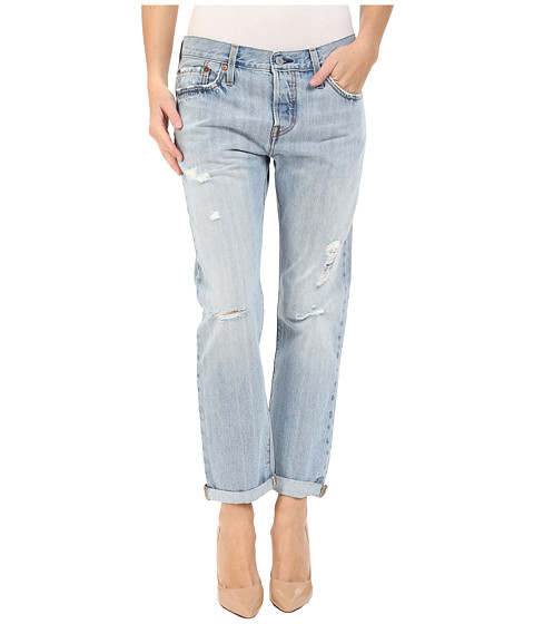 Best place to find jeans for tall girls: Levi's 501 Tapered Jeans