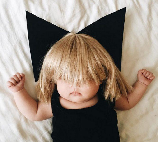 Hottest pop culture baby Halloween costumes: Sia via LauraIZ