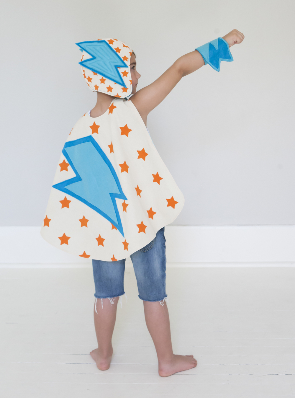 Make your own superhero capes with Superhero Sewing by Lane Huerta