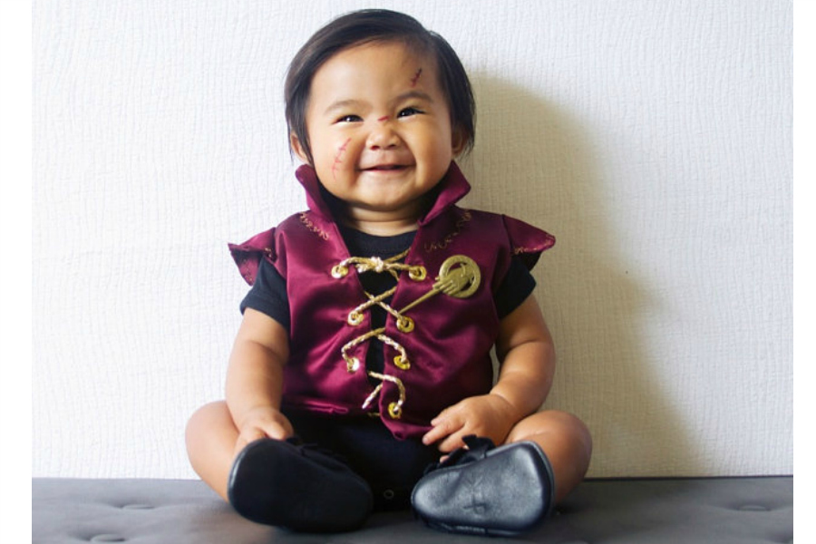 Hottest pop culture baby Halloween costumes: Tyrion Lannister! photo: Leniebelle Gallardo costume: Little Ivie Rose costume shop