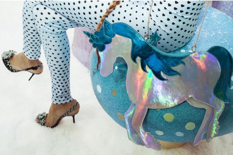 Sophia Webster iridescent unicorn purse: Magical!