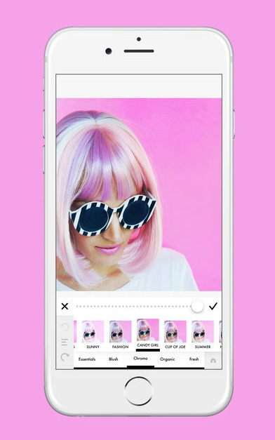 A Color Story App: Perfect for easy editing and filtering