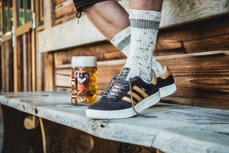 Adidas puke-proof shoes: München Oktoberfest sneakers by Adidas