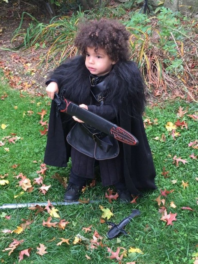 Game of Thrones inspired costumes for kids: Jon Snow