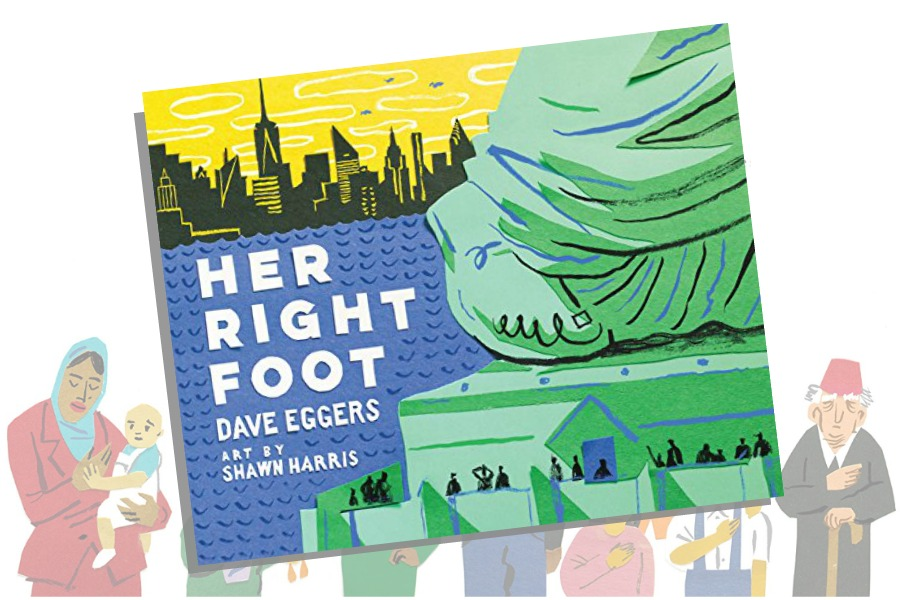 Her Right Foot by Dave Eggers: The perfect book for our kids, for our time | coolmompicks.com