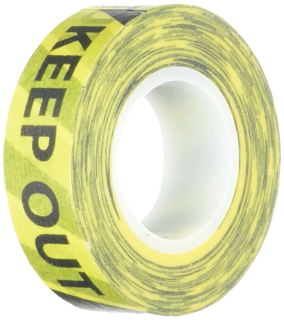 Stranger Things party ideas: Keep Out Tape from Amazon