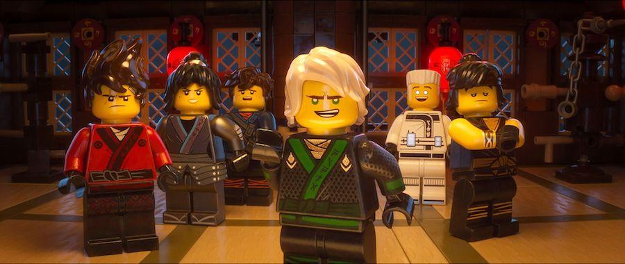 LEGO NINJAGO Movie cast: Teens by day, ninjas by night