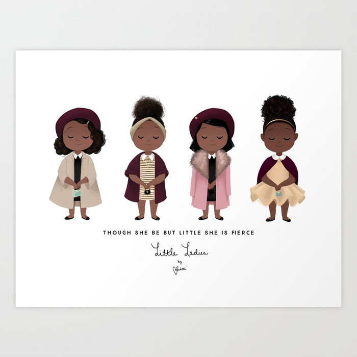 #DrawingWhileBlack: Black Children's book illustrator Vashti Harrison