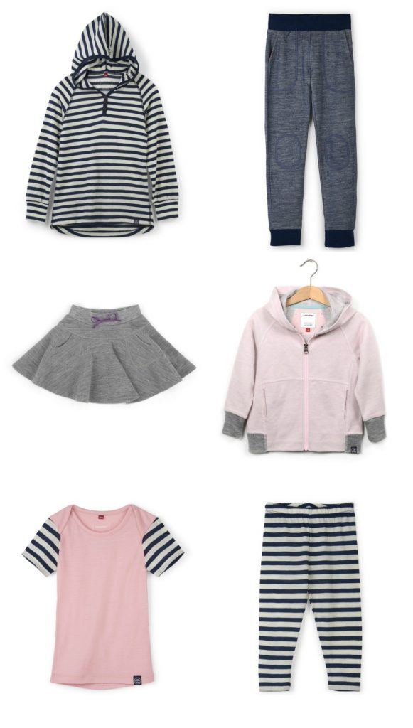Luv Mother merino basics for kids and babies: so cute!