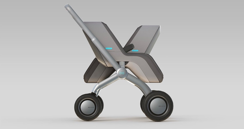 The SmartBe self-propelled stroller. OMG.