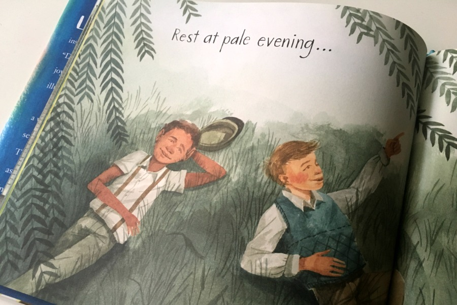 That is My Dream: The new children's picture book featuring Langston Hughes' poetry and Daniel Miyares gorgeous illustration | coolmompicks.com