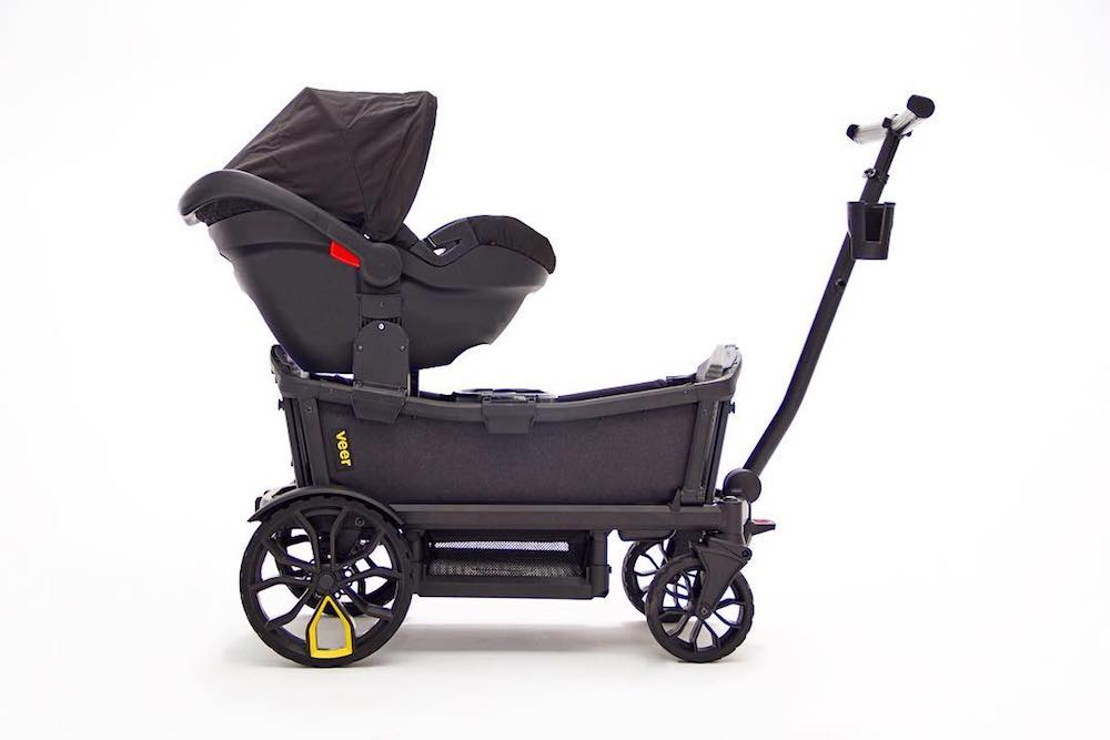 The Veer Cruiser wagon-stroller hybrid is so perfect for growing families.