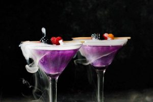 Last-minute Halloween help guide: Witch's Heart Cocktail by The Flavor Blender