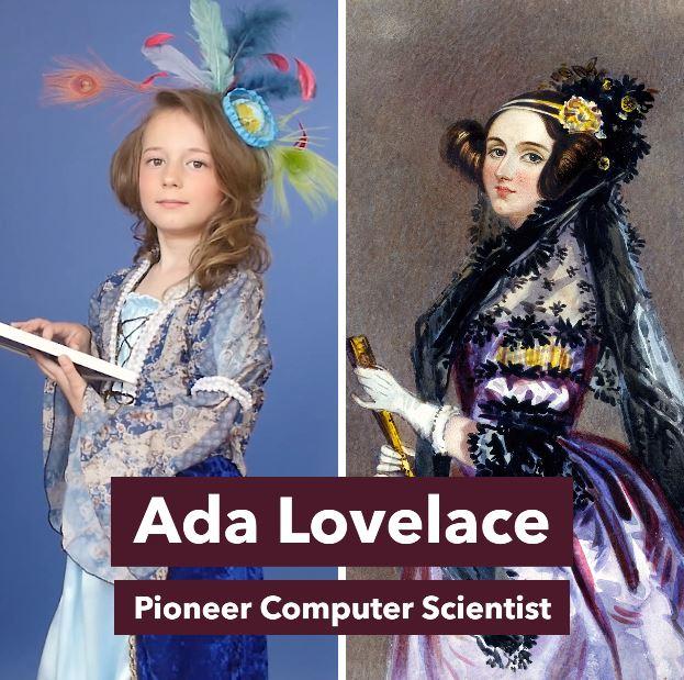 Empowering girl Halloween costumes based on real heroes: Ada Lovelace via Rebel Girls