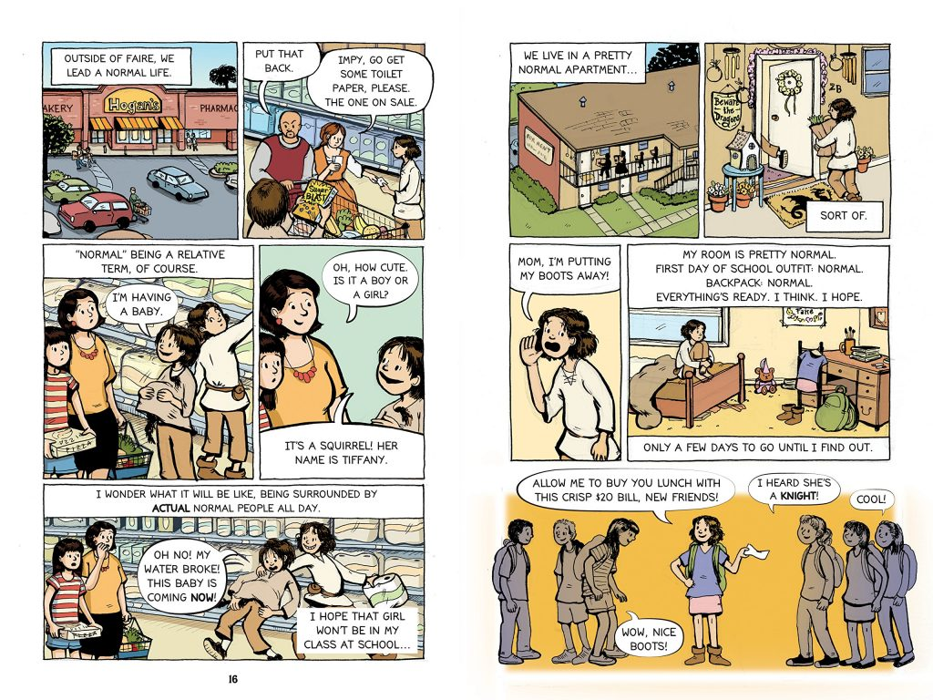All's Faire in Middle School: Excellent new graphic novel by Victoria Jamieson