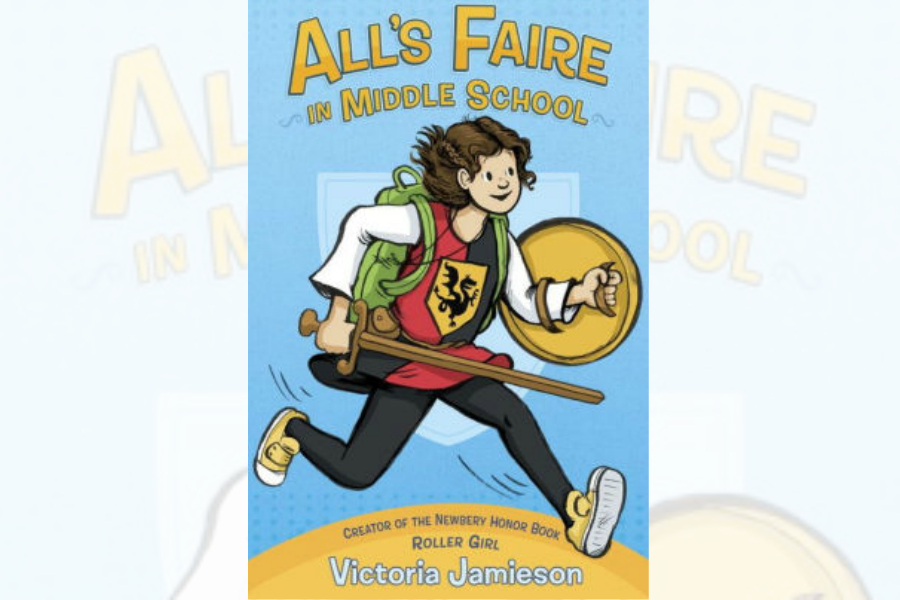 Help your kids navigate the hell of middle school with the new graphic novel from the author of Roller Girl.