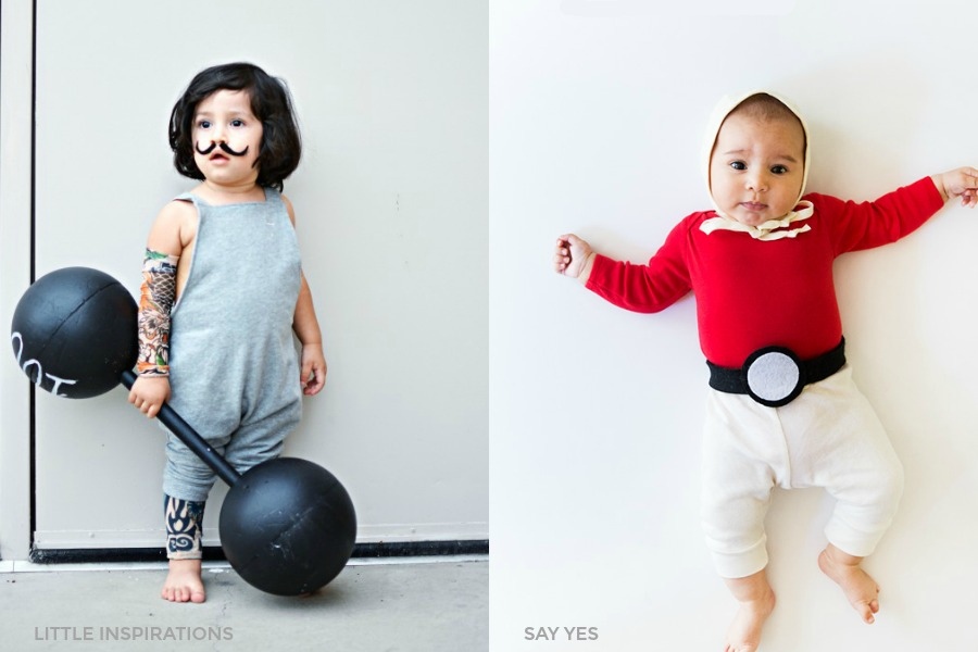 13 totally adorable no-sew Halloween costumes for babies