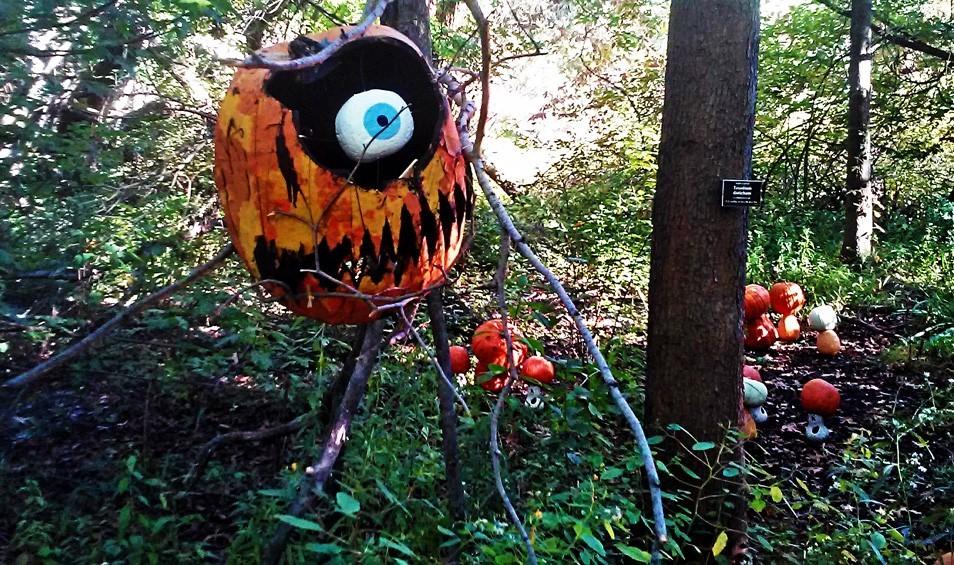 Creepiest Halloween pumpkins: Pumpkin Monster | Bronx Journal