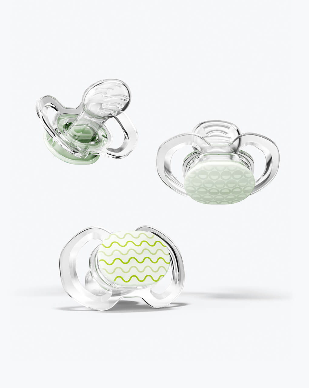 Glow-in-the-dark pacifiers perfect for baby's first Halloween!