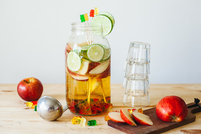 Last-minute Halloween help guide: Gummy Bear Sangria by My Name is Yeh