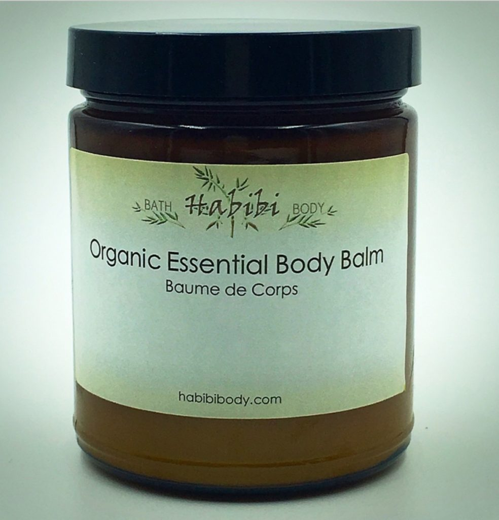 Black beauty tips from my mother: Habibi organic body balm is my favorite shea balm to keep me moisturized in all seasons