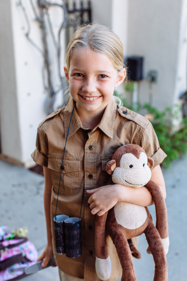 Empowering girl Halloween costumes based on real life heroes: Jane Goodall on the Mod Chik blog