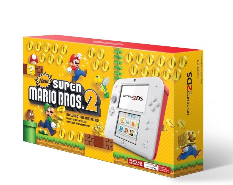 Nintendo 2DS bundle with Super Mario Bros at an amazing price for holidays | sponsor