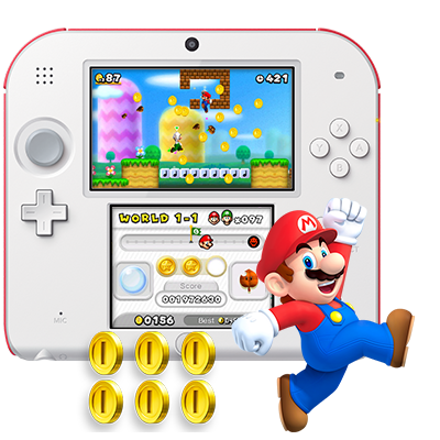 The Super Mario Bros bundle with Nintendo 2DS at a fantastic price for holidays! | sponsor