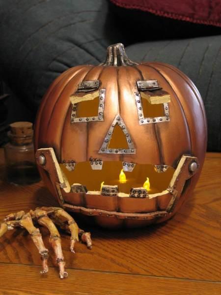Creepiest Halloween pumpkins: Steampunk Pumpkin | Epbot