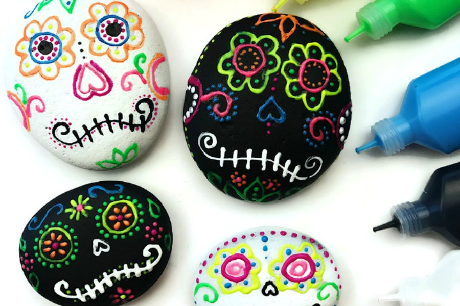 day of the dead craft ideas 12 spectacular sugar skull craft ideas for dia de los muertos 7658