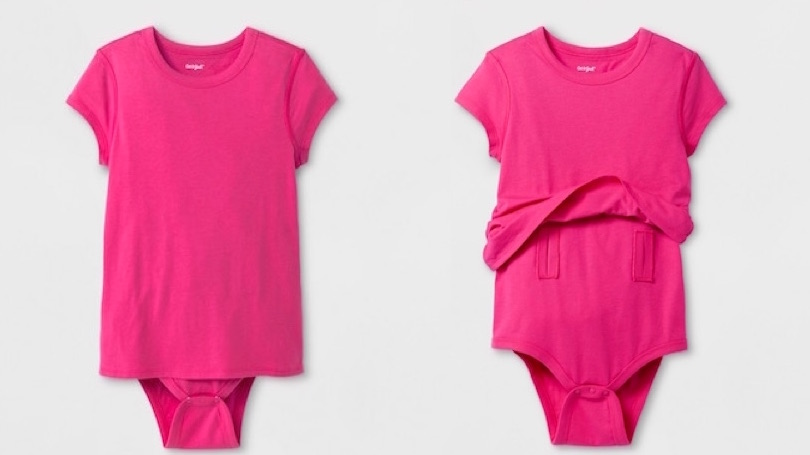 47e1117d4 Target's new adaptive clothing for kids with special needs: Diaper-friendly  body suits