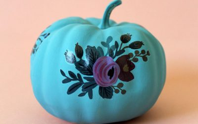 8 awesome ways to decorate a teal pumpkin for Halloween.