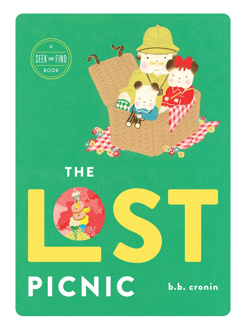Gorgeous look-and-find books for kids: The Lost Picnic by B. B. Cronin