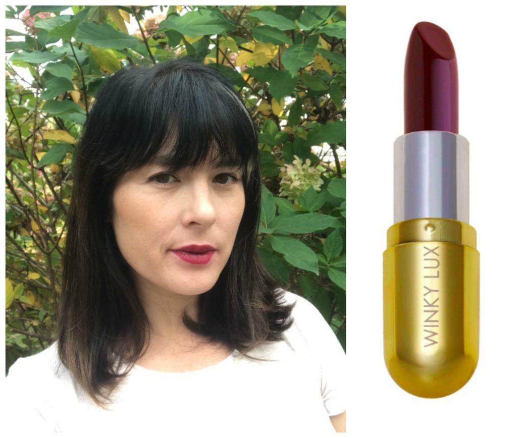 Fall lip trends: Berry lips | sponsor Winky Lux