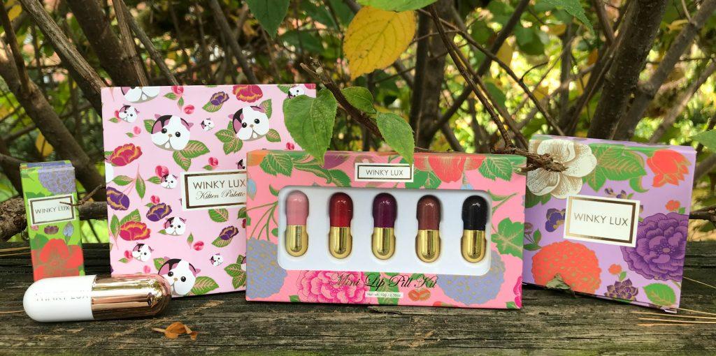 Winky Lux beauty products | Sponsor