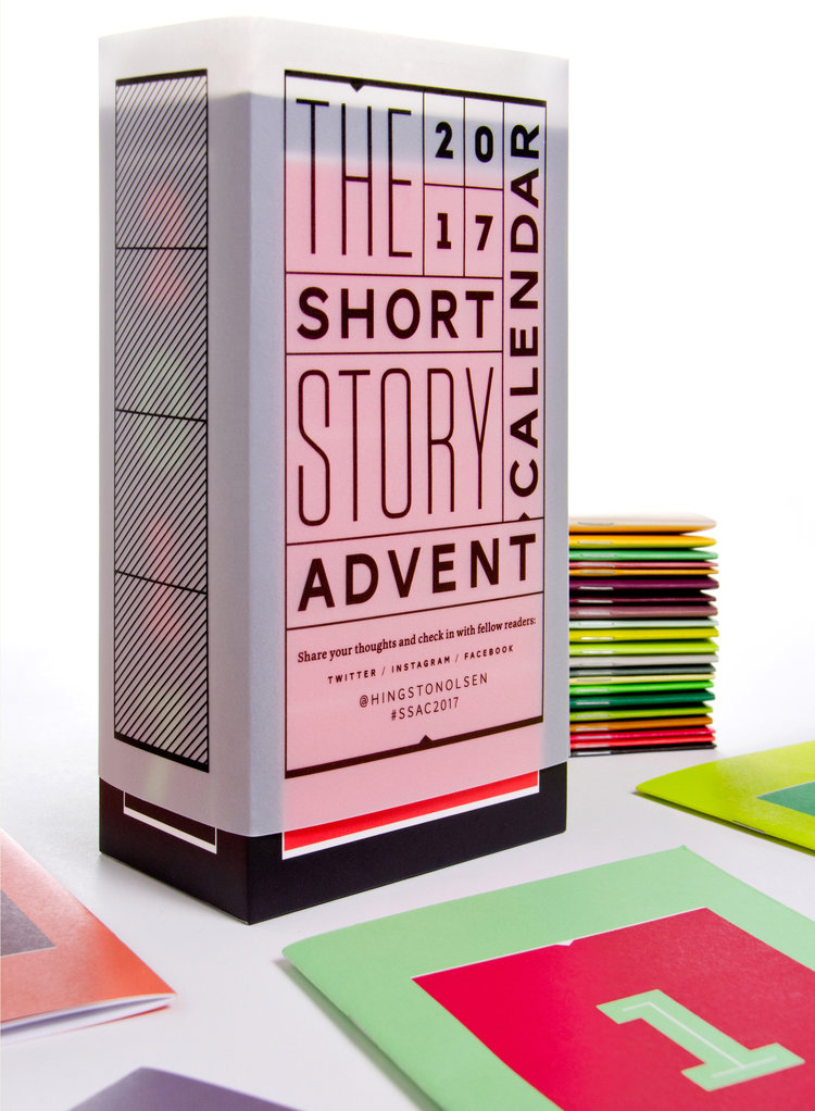 Coolest Advent Calendars | 2017 short story Advent calendar