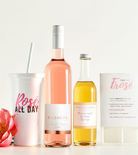 Frosé all day gift box: A self-care gift that gives back to women with ovarian cancer