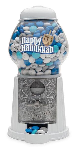 Cool Hanukkah gifts: M&M dispenser!